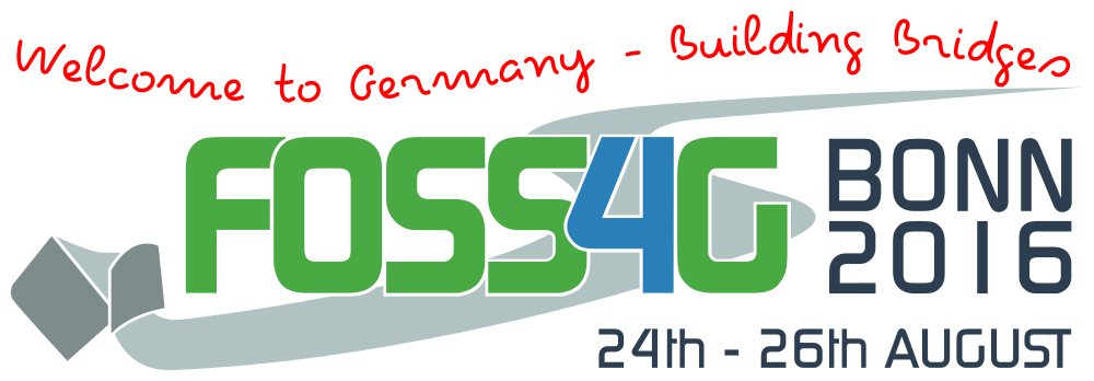 FOSS4G 2016 Bonn Germany Aug 24th-26th, 2016